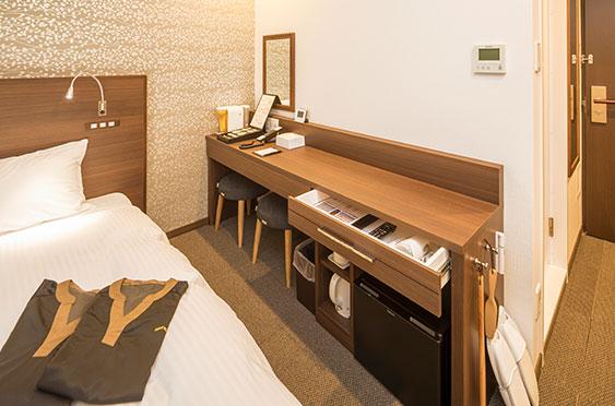 中洲 天神 おすすめ ホテル WBF福岡天神 客室