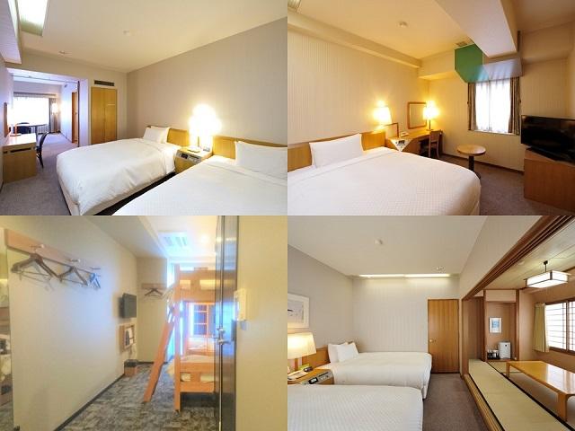 コートホテル福岡天神 客室