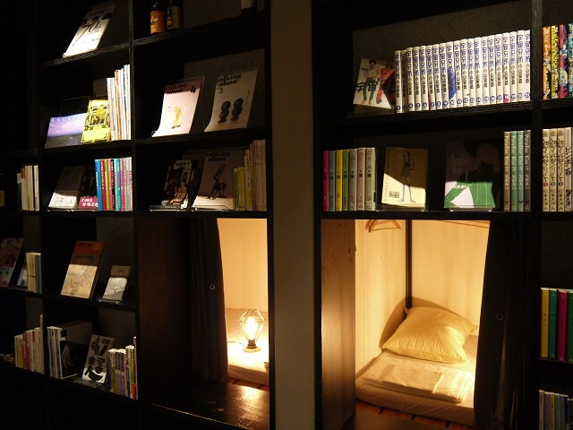 BOOK AND BED TOKYO 福岡店 寝室