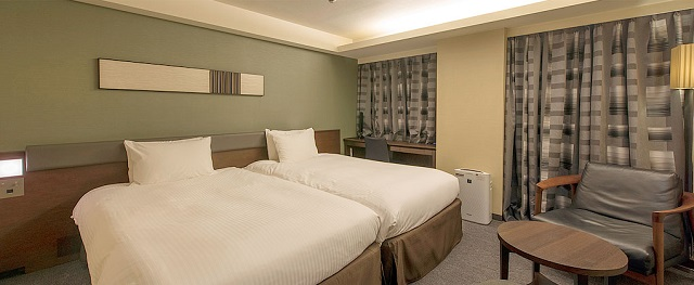 中洲 天神 おすすめ ホテル リッチモンドホテル福岡天神 客室