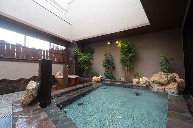天然温泉白糸の湯ドーミーイン大分 浴場