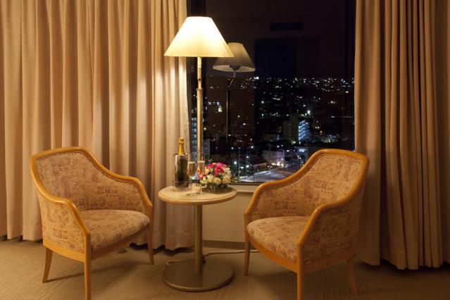 レンブラントホテル大分 客室 夜景