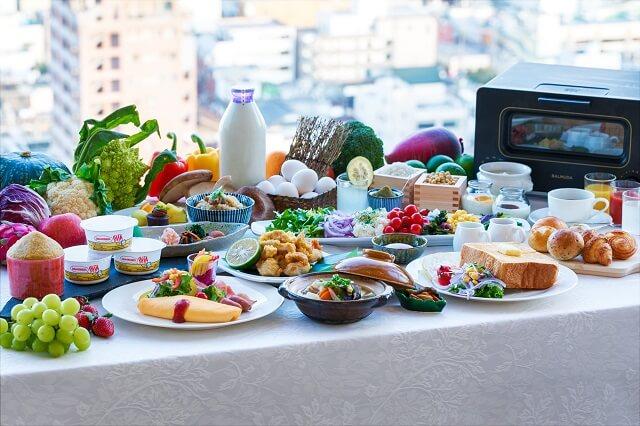 ホテル日航大分オアシスタワー 朝食