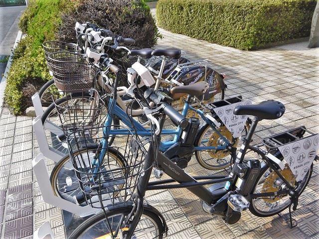 佐賀市 街ブラ レンタサイクル