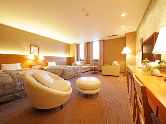 佐賀おすすめホテル ホテルグランデはがくれ 客室