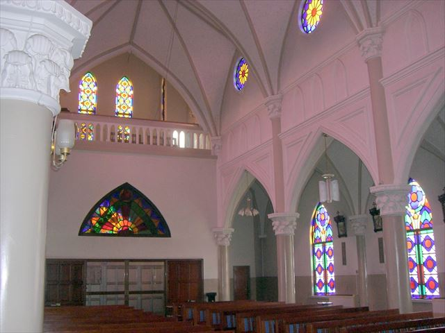 佐世保 観光スポット カトリック三浦町教会