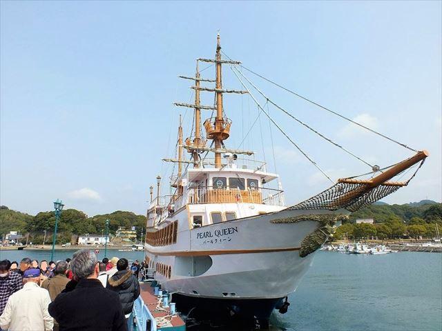 佐世保 観光スポット 九十九島遊覧船パールクィーン