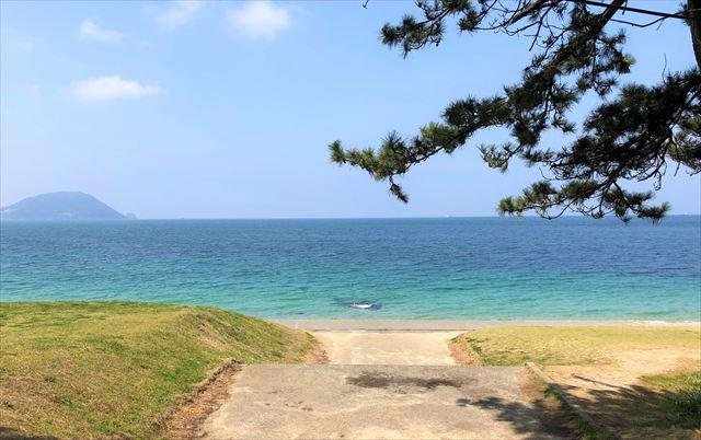 志賀島 下馬ヶ浜海水浴場