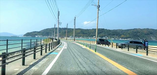 志賀島 海の中道