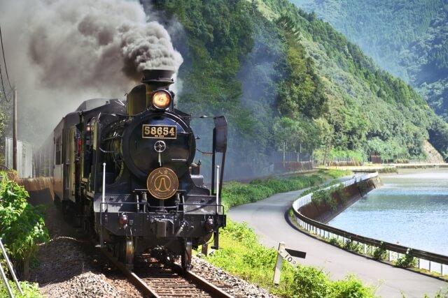 九州 観光列車 SL人吉