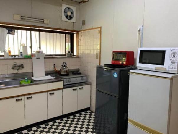 民宿和香 共用キッチン