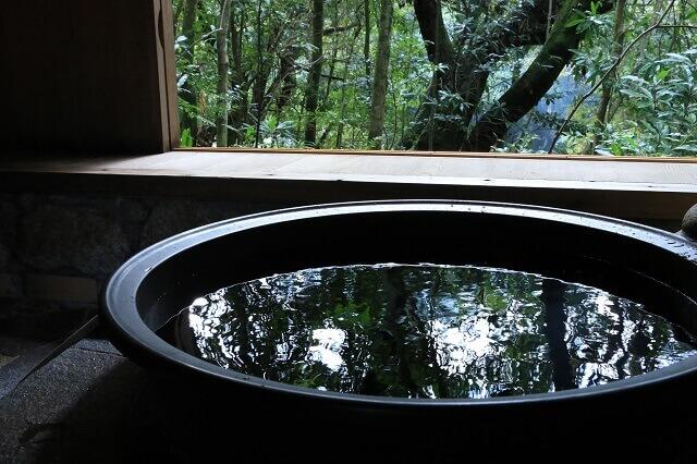 和のコテージ 仙の家 五右衛門風呂